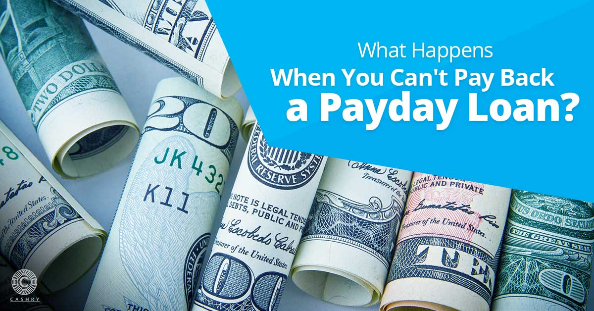 cannot pay back a payday loan blog