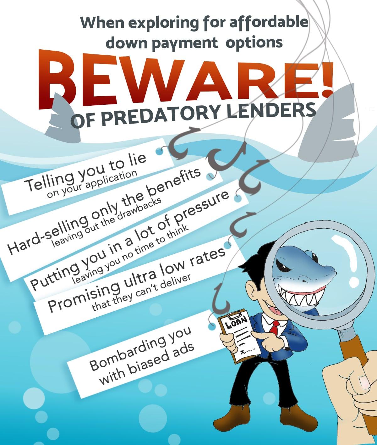 Predatory Loan - Take care!