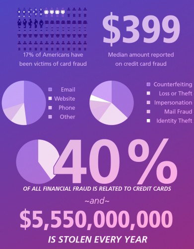 How important is credit card fraud in the US?