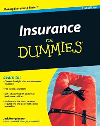 5. Insurance for Dummies by Jack Hungelmann